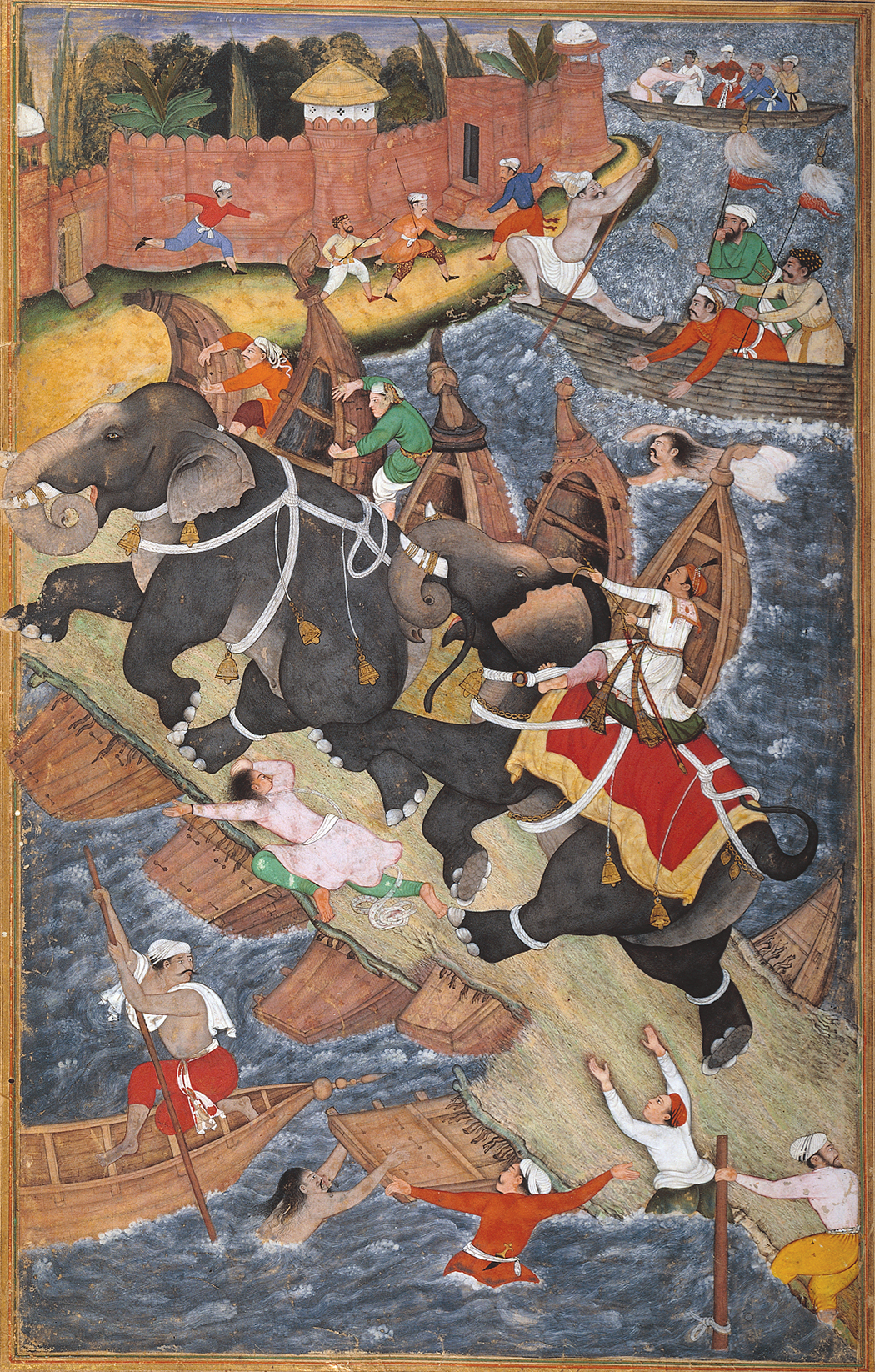 BASAWAN and CHATAR MUNI - Akbar and the Elephant Hawai