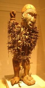 Nkisi Nkondi, Congo, c. 1880-1920, Carnegie Museum of Art, Pittsburgh, PA