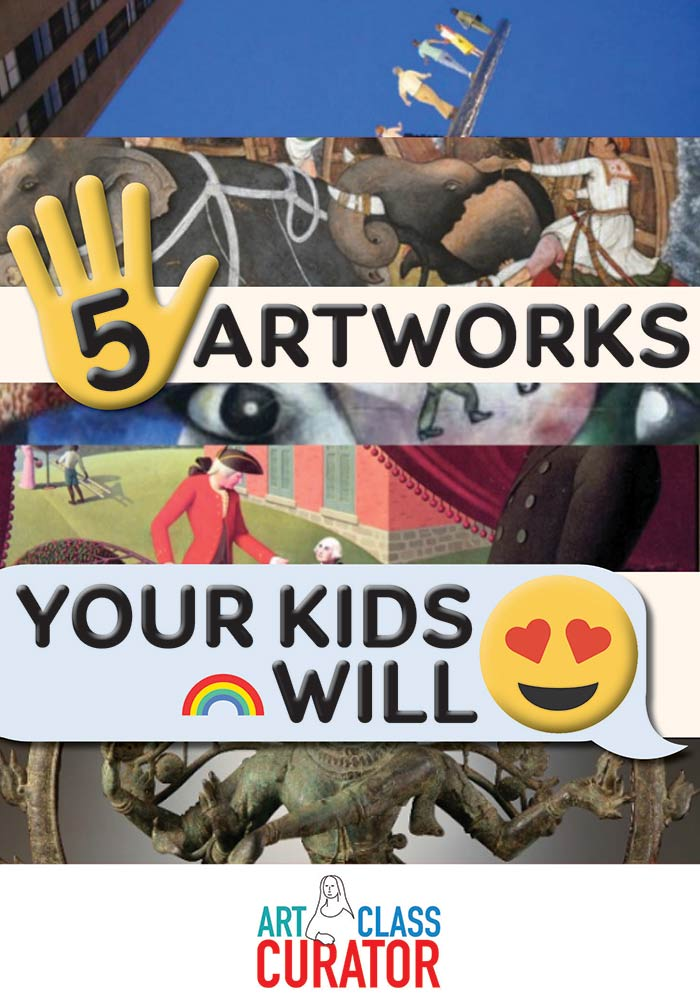 5 Artworks for Kids