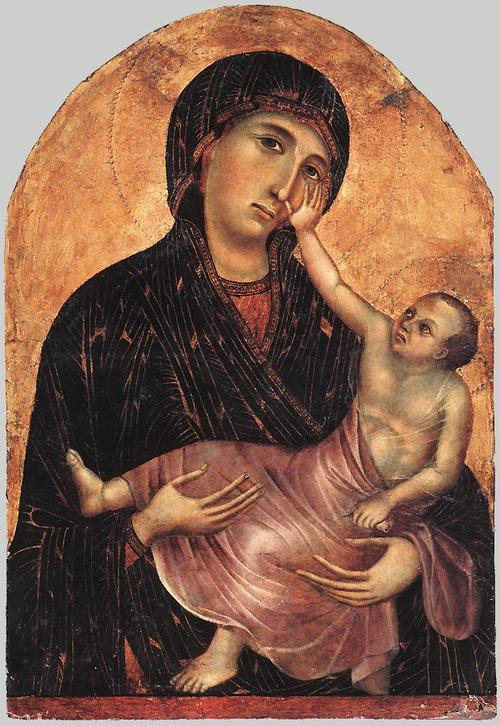 Cimabue, Madonna with Child, 1283-84