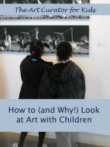 how to look at art with children