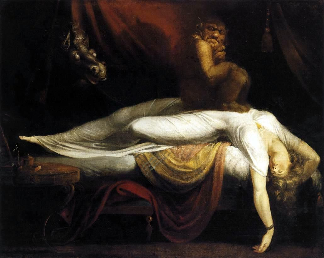 Henry Fuseli, The Nightmare, 1781, Detroit Institute of Arts