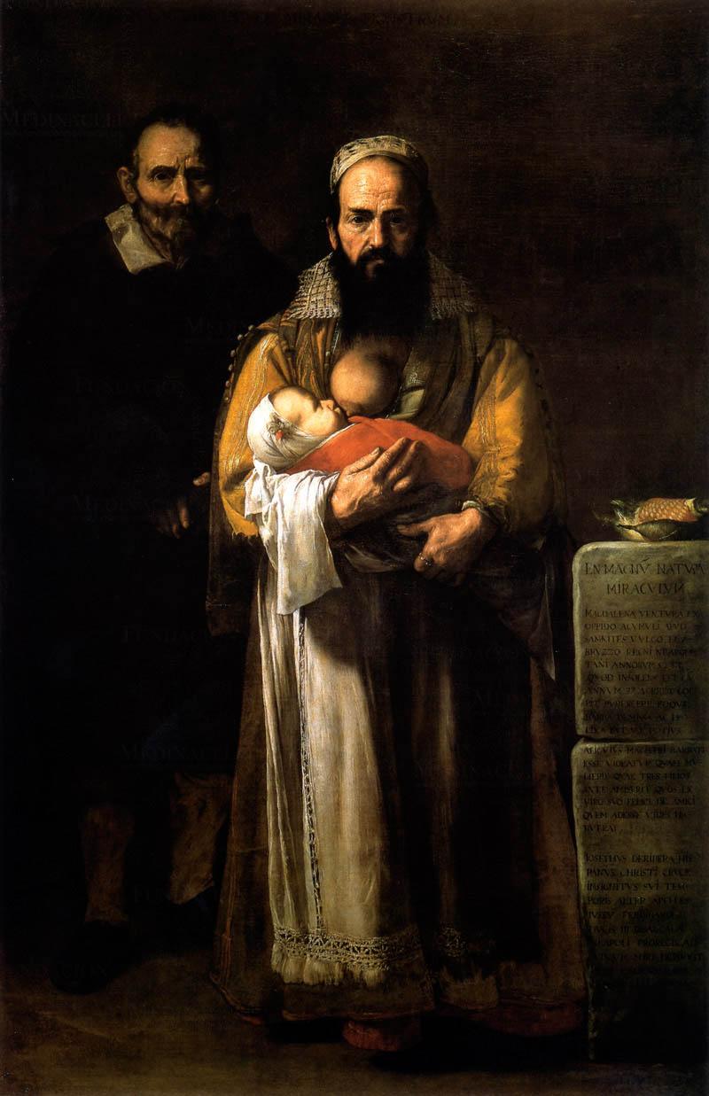 Jusepe de Ribera, The Bearded Woman, 1631