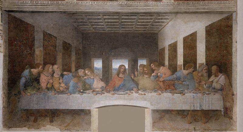 Leonardo da Vinci, Last Super, 1495-1498