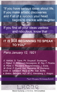 Marcel_Duchamp_Mona_Lisa_LHOOQ it is dada beginning to speak to you
