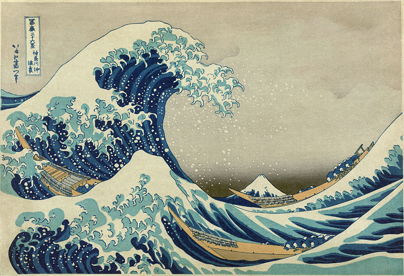 The Art Curator for Kids - Great Wave Off Kanagawa - Science and Art Activities