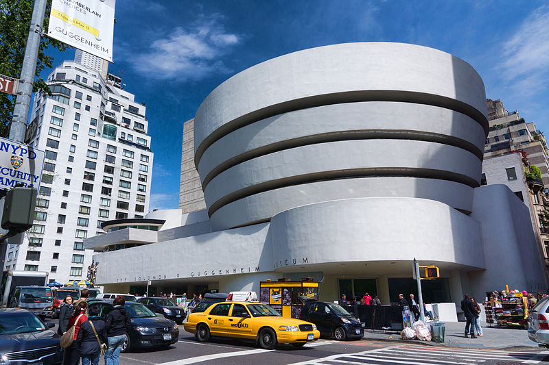 Solomon R. Guggenheim Museum, Photo Credit: Jean-Christophe BENOIST