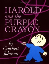 Harold and the Purple Crayon by Crockett Johnson homeschool art