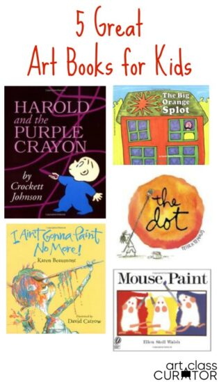 Great Art Books for Kids