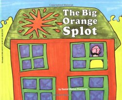 The Big Orange Splot by D. Manus Pinkwater homeschool art