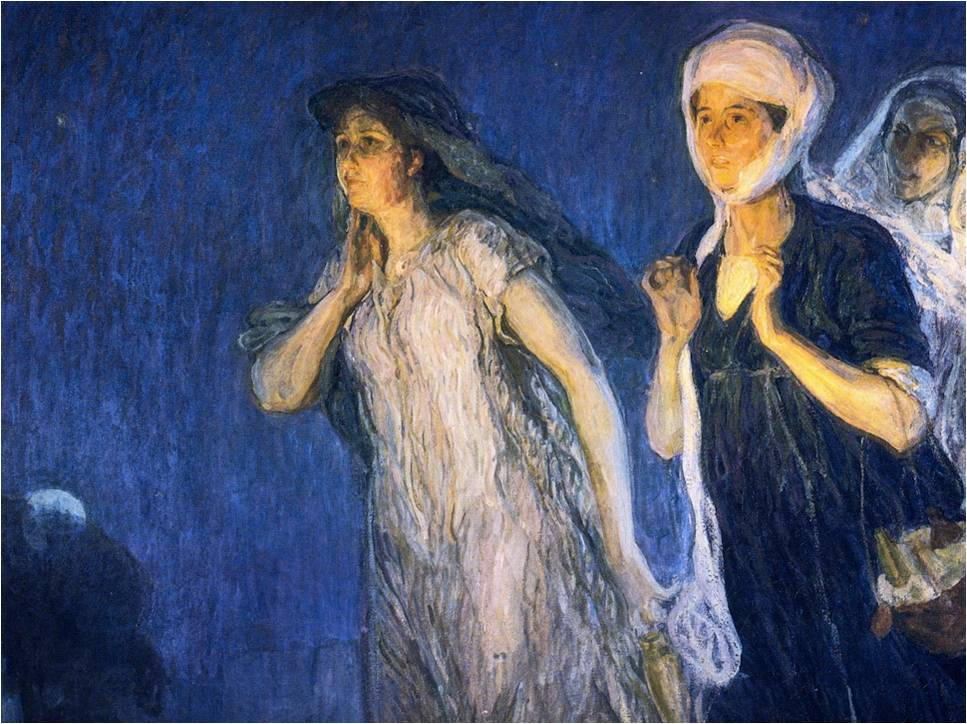 Henry Ossawa Tanner, The Three Marys, 1910
