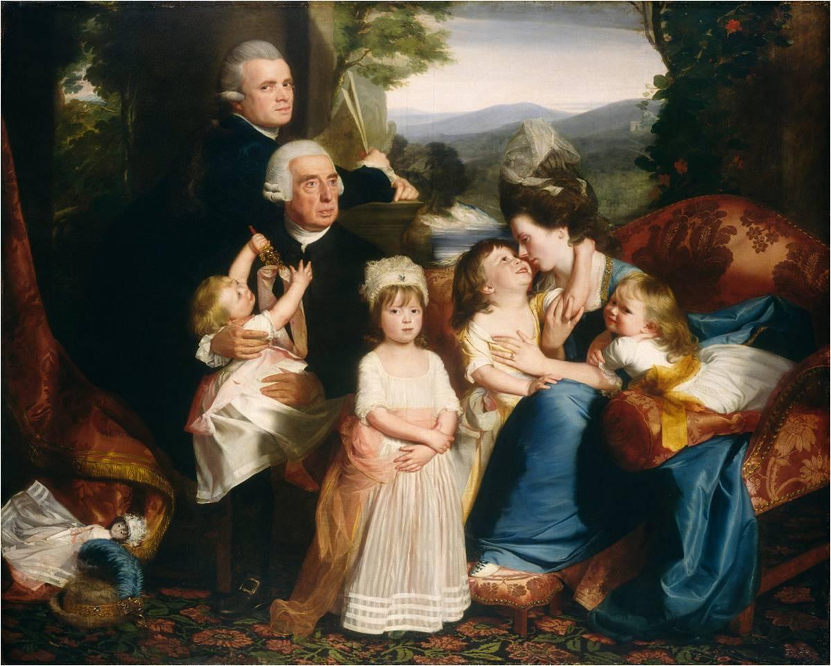 John Singleton Copley, The Copley Family, 1776-77
