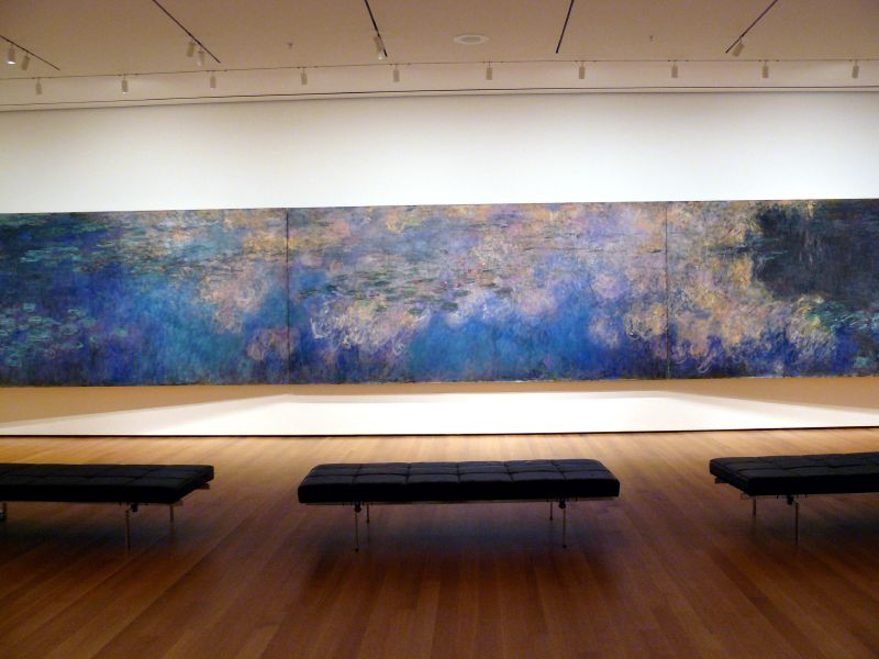 Monet at the MOMA, Photo Credit:  Trish Mayo