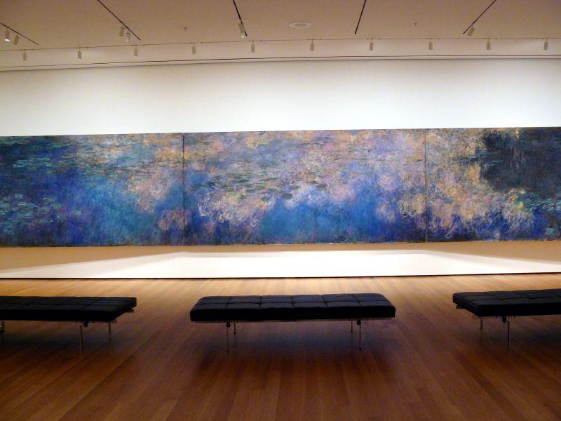 Monet at the MOMA, Photo Credit:  Trish Mayo