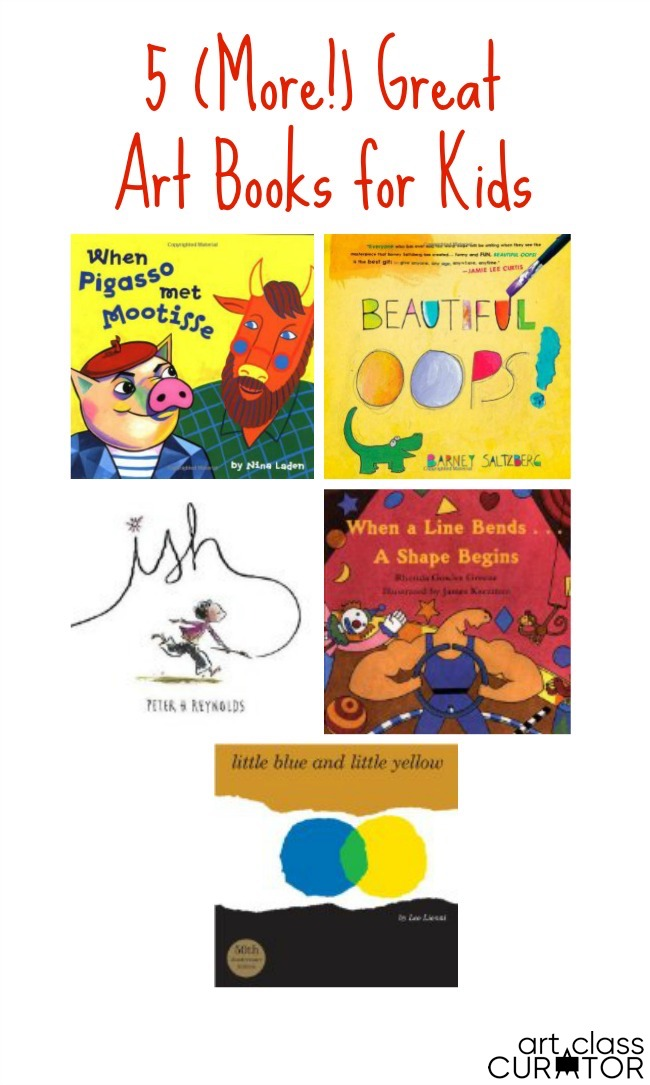 Great Art Books for Kids