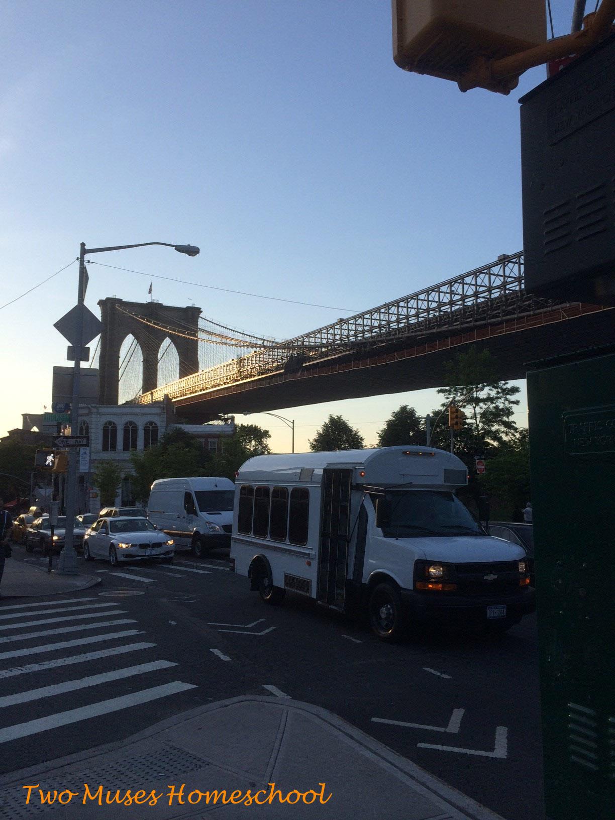 Grimaldi's Pizza under the Brooklyn Bridge