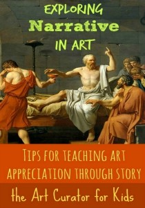 the Art Curator for Kids - Exploring Narrative in Art - 2300