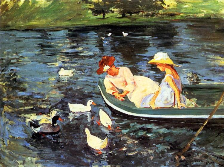 Mary Cassatt, Summertime, c. 1894