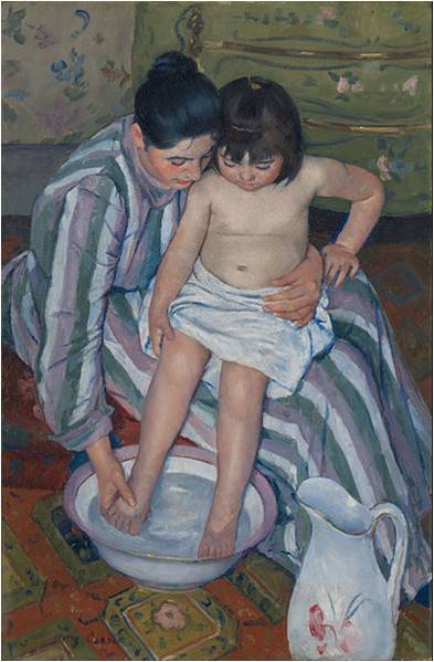 Mary Cassatt, The Child's Bath (The Bath), 1893