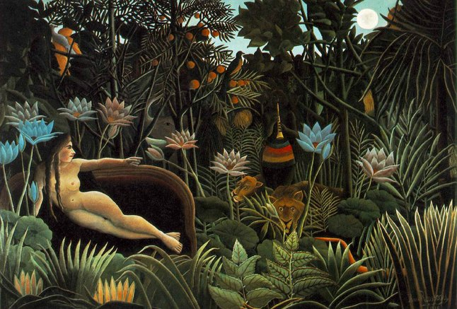 Henri Rousseau, The Dream, 1910, The Museum of Modern Art, New York