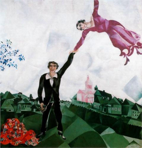 Marc Chagall, The Promenade, 1918