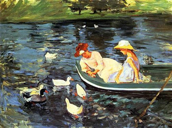 Mary Cassatt, Summertime, 1894
