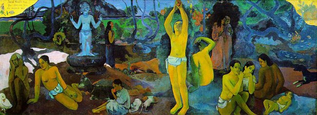 Paul Gauguin, Where Do We Come From-What Are We-Where Are We Going, 1897, Museum of Fine Arts, Boston