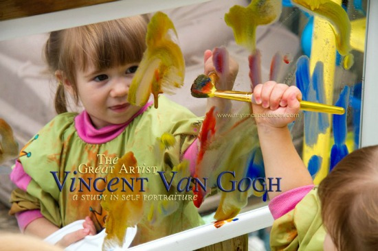 Van Gogh Mirror Painting, Art History for Kids