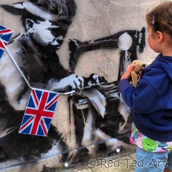 Art History for Kids Projects, Banksy Art Projects for Kids, Street Art for Kids