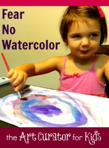 the Art Curator for Kids - Fear No Watercolor-300