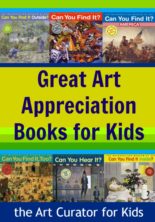 Can you find it? Great Art Appreciation Books for Kids!