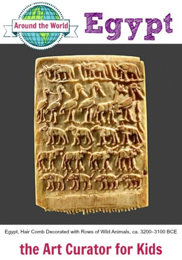 Art Around the World in 30 Days – Day #11 – Ancient Egypt
