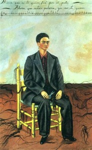 Frida Kahlo, Self Portrait with Cropped Hair, 1940