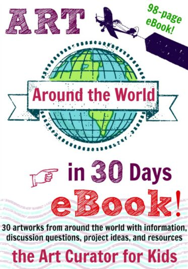 The Art Around the World eBook is Here!