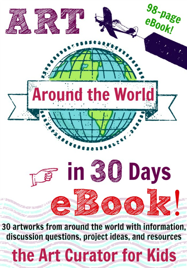 The Art Curator for Kids - Art Around the World in 30 Days-eBook