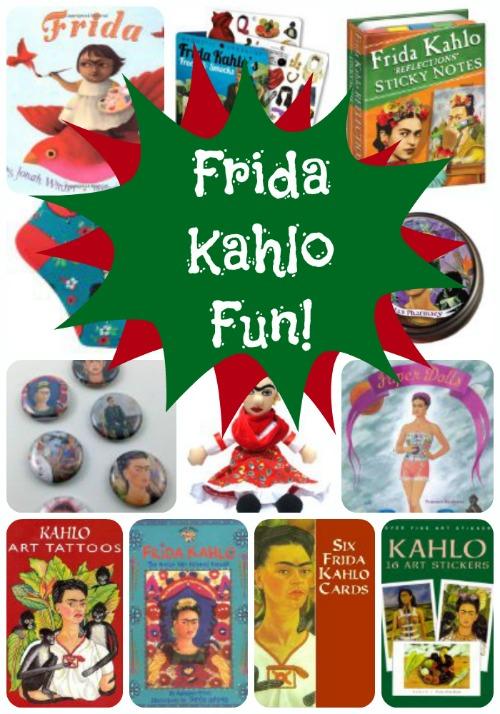 The Art Curator for Kids - Frida Kahlo Fun2