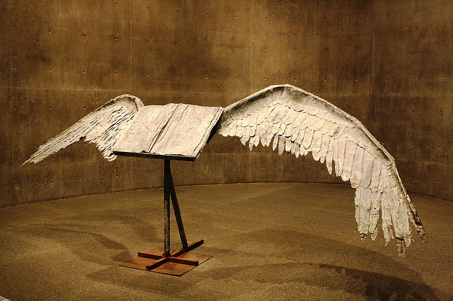 the Art Curator for Kids - Anselm Keifer - Book with Wings - Art History for Kids - Art Around the World Germany