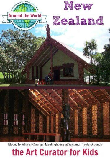 Masterpiece Monday & Art Around the World – Day #10 – Maori of New Zealand