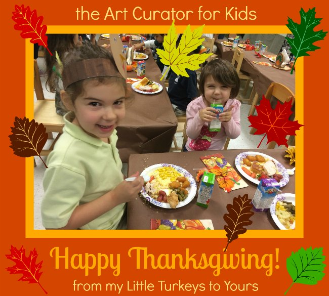 the Art Curator for Kids - Happy Thanksgiving