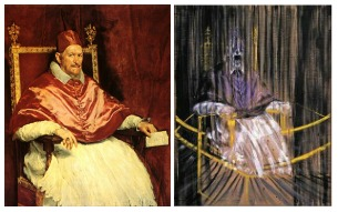 the Art Curator for Kids - Pope Innocent X by Diego Velázquez and Francis Bacon