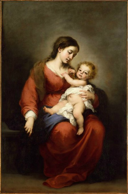 Bartolomé Estebán Murillo, Virgin and Child, ca. 1670–72