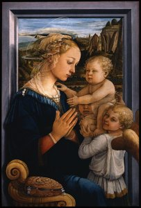 Filippo Lippi, Madonna and Child, c. 1465