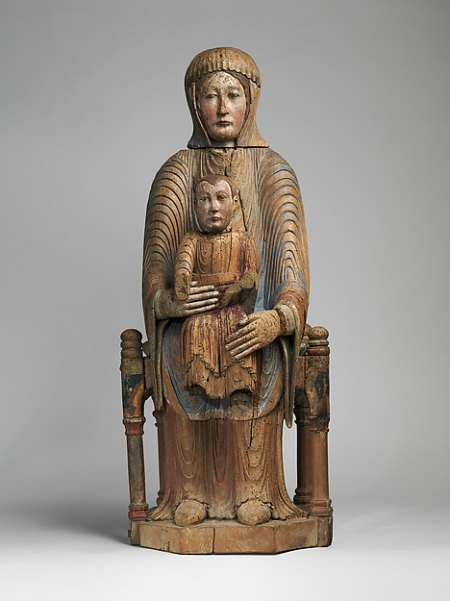 the Art Curator for Kids - 5 Favorite Madonnas in Art - French, Virgin and Child in Majesty, ca. 1175–1200
