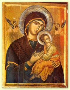 Icon of the Virgin Mary, 16th century. St. Catherine's Monastery in the Sinai