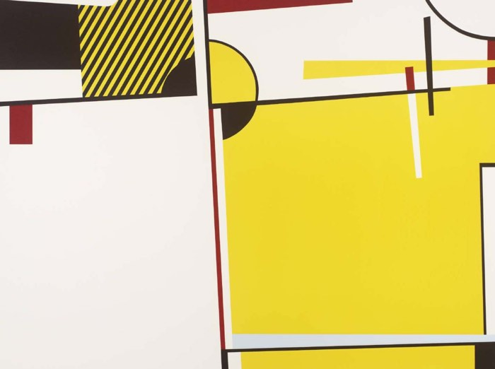 How to Teach Abstract Art, Concept of Abstraction, Roy Lichtenstein, Bull VI, 1973