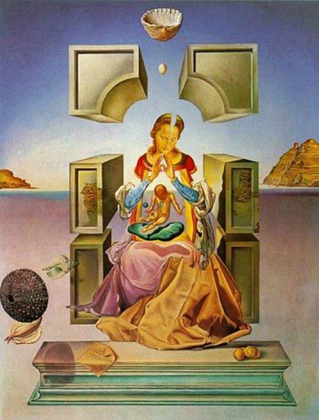 Salvador Dalí, The Madonna of Port Lligat, 1949