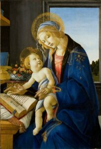 Sandro Botticelli, The Virgin and Child (The Madonna of the Book), 1480