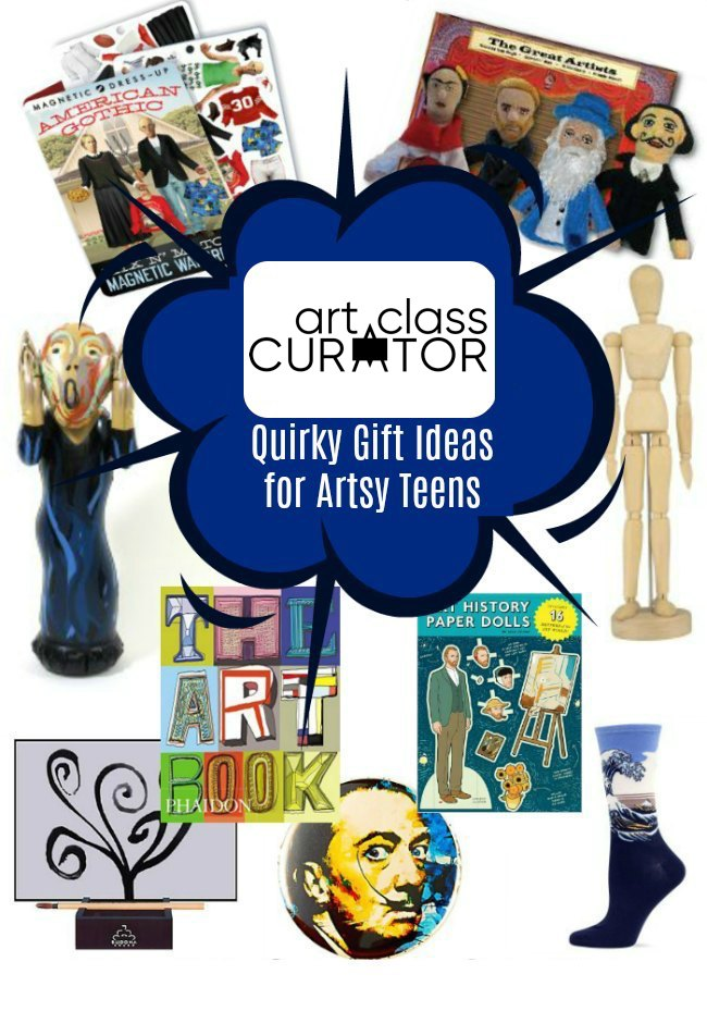 Gift Ideas for Artsy Teens