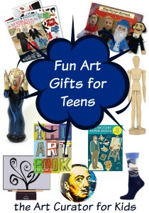 the Art Curator for Kids - Fun Art Gifts for Teens who Love Art-300, art gifts for kids