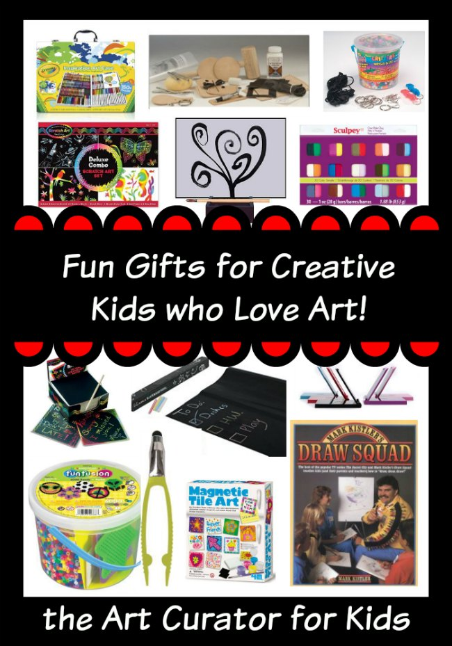 Art Gifts for Creative Kids, Ages 8-13